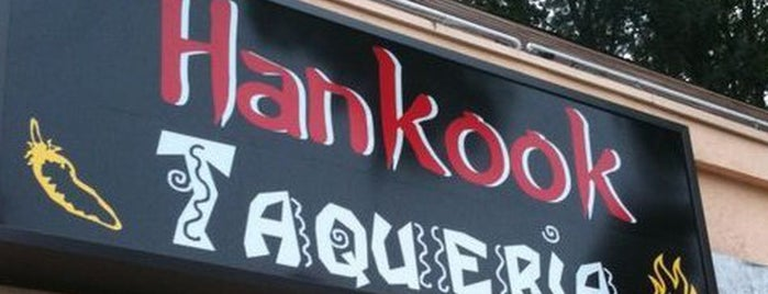Hankook Taqueria is one of 12 Essential Korean Restaurants in Atlanta.