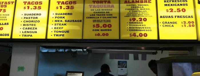 Tacos La Banqueta is one of Dallas Eater 38.