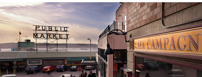Cafe Campagne is one of Seattle Bachelor Trip.