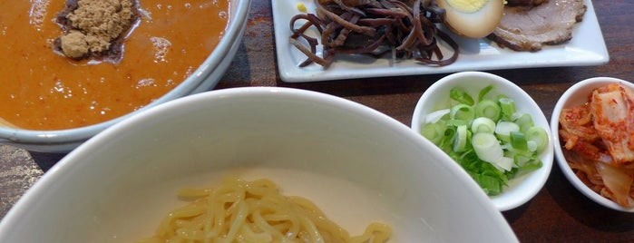 Minca is one of Sietsema's NYC Ramen Heatmap.