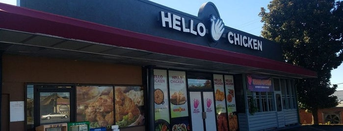 Hello Chicken is one of 12 Essential Korean Restaurants in Atlanta.