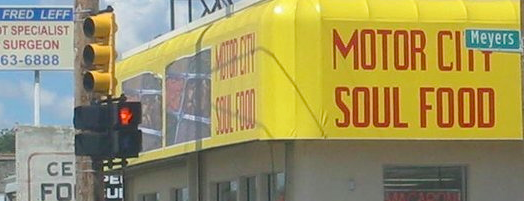 Motor City Soul Food is one of Detroit Eater 38.