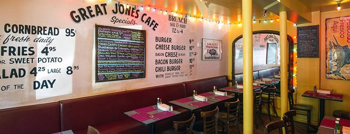 Great Jones Cafe is one of 11 Wonderful Wings to Try in New York City.