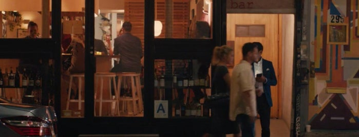 The Four Horsemen is one of Master of None's Season Two Restaurants and Bars.
