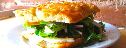 Saltie is one of 13 Vegetarian Sandwiches Even Carnivores Will Dig.
