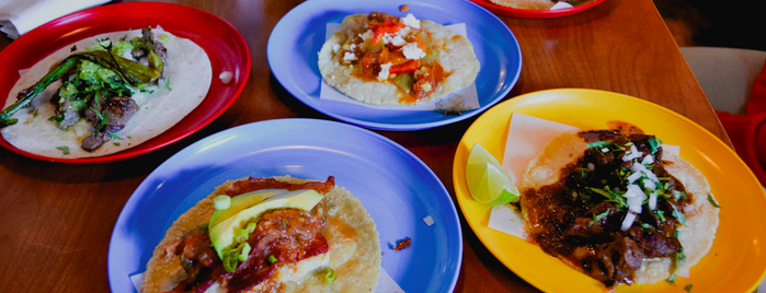 Colonia Taco Lounge is one of 20 Tacos to Try Before You Die in Los Angeles.