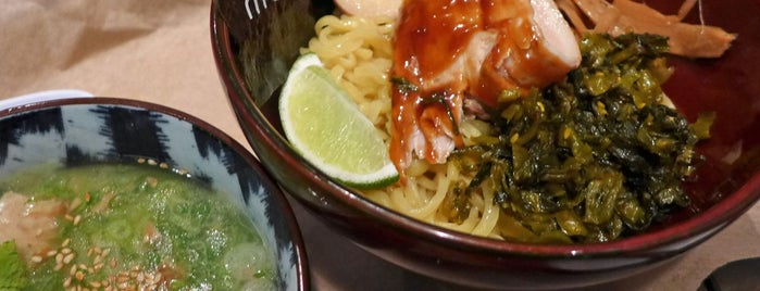 Momosan Ramen & Sake is one of Sietsema's NYC Ramen Heatmap.