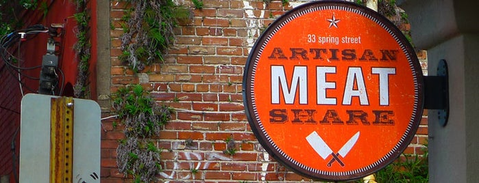 Artisan Meat Share is one of Downtown Charleston, SC.