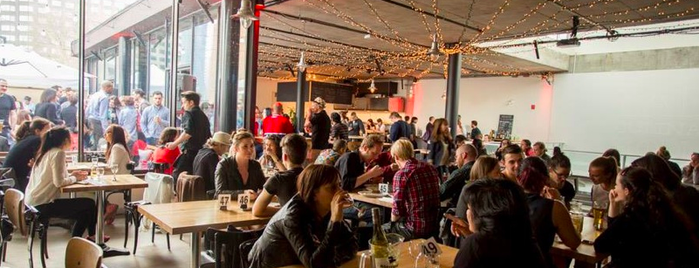SAT FoodLab is one of Montreal Eater 38.