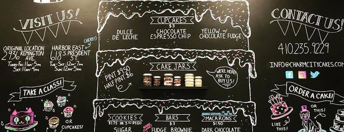 Charm City Cakes is one of Where to Eat and Drink in Baltimore.