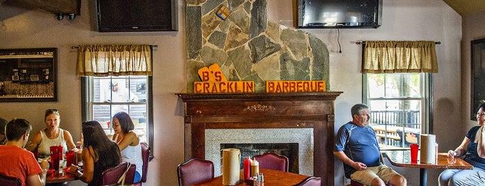 B's Cracklin BBQ is one of The 33 Essential Atlanta Restaurants, Summer '17.