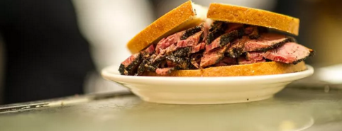 Katz's Delicatessen is one of The 38 Essential New York Restaurants, Winter 2017.