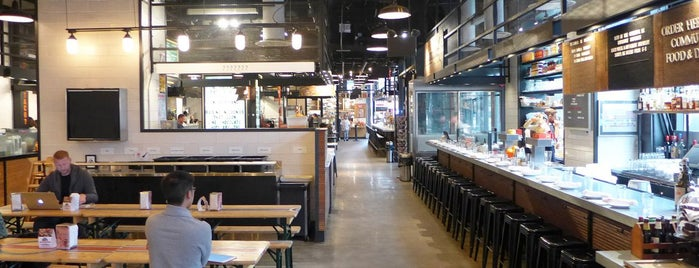 Gotham West Market is one of The Definitive Guide to Theater District Dining.