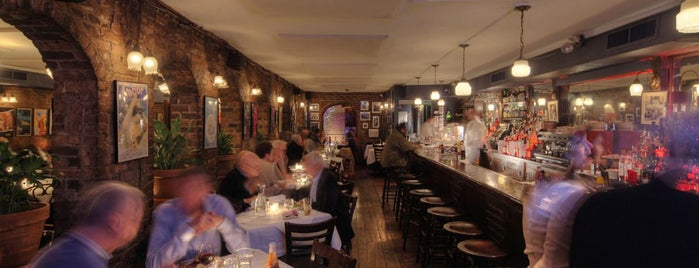Joe Allen is one of The Definitive Guide to Theater District Dining.