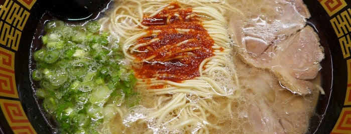 Ichiran is one of Sietsema's NYC Ramen Heatmap.