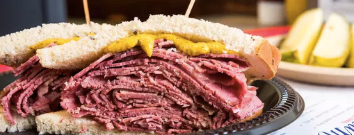 Attman's Authentic New York Delicatessen is one of Where to Eat and Drink in Baltimore.
