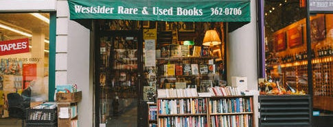 Westsider Rare & Used Books Inc. is one of Best Indie Bookstores NYC.