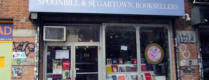 Spoonbill & Sugartown Books is one of Best Indie Bookstores NYC.