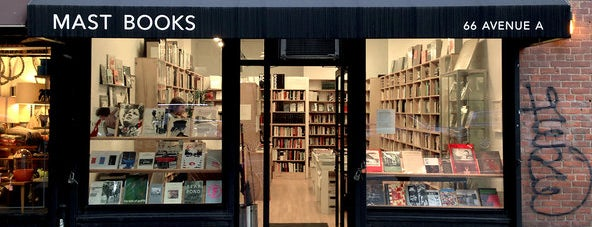 Mast Books is one of Best Indie Bookstores NYC.