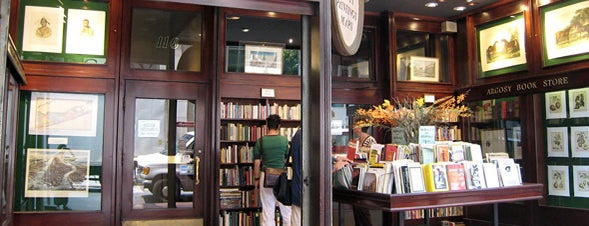 Argosy Book Store is one of Best Indie Bookstores NYC.