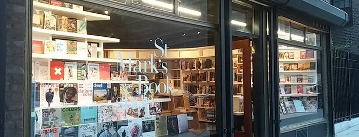St. Mark's Bookshop is one of Best Indie Bookstores NYC.