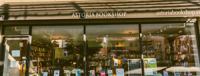 The Astoria Bookshop is one of Best Indie Bookstores NYC.