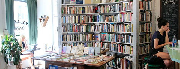 Molasses Books is one of Best Indie Bookstores NYC.