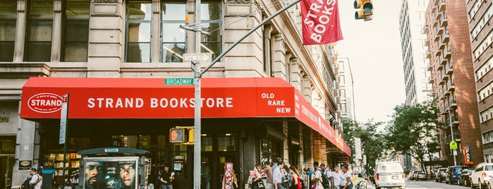 Strand Bookstore is one of Best Indie Bookstores NYC.