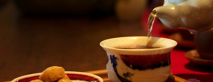 The Green Teahouse is one of Coffee, Tea, and Smoothies.