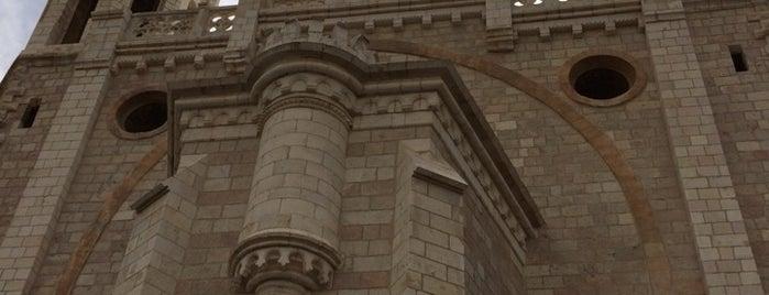 Notre Dame de Jerusalem is one of Lugares favoritos de Janete.