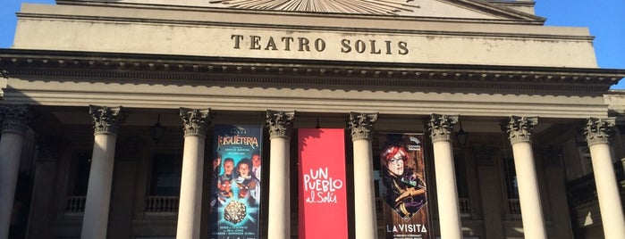 Teatro Solís is one of Janete 님이 좋아한 장소.