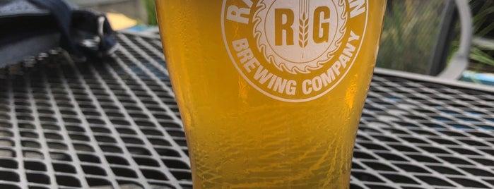 Raised Grain Brewing Co. is one of Lieux qui ont plu à Brent.