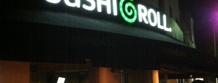 Sushi Roll is one of CdMx: Munch Vegano.