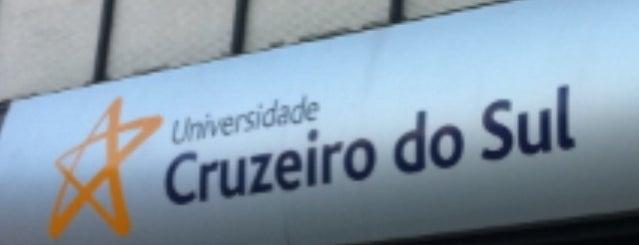 Universidade Cruzeiro do Sul - Campus Liberdade is one of Posti che sono piaciuti a Tania Ramos.