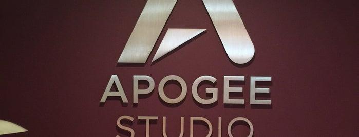 Apogee Sound is one of Orte, die Tony gefallen.