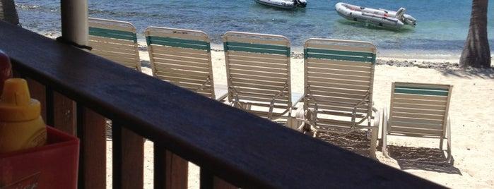 Sangrias Beachside Bistro is one of St Thomas.