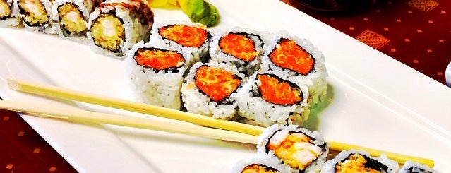 sushi fu is one of Lugares guardados de Lizzie.