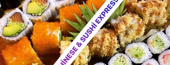 Chinese&Sushi Express is one of İstanbul'da Uzakdoğu Mutfakları.