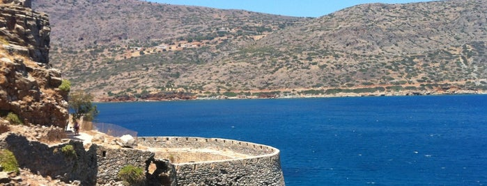 Spinalonga is one of Kreta.