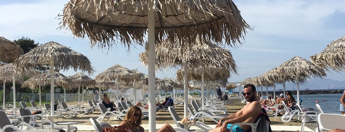Ammos Beach Bar Kos is one of Reyhanさんのお気に入りスポット.