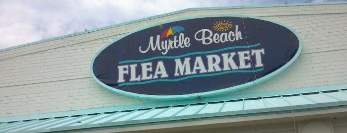 Myrtle Beach Flea Market is one of Beaches To Visit.