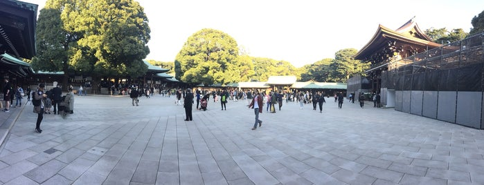 Meiji Jingu Shrine is one of Go Ahead, Be A Tourist.