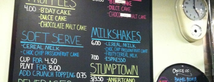 Momofuku Milk Bar is one of New York Favorites.