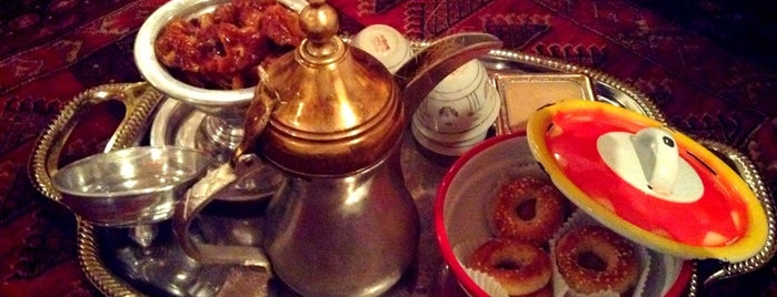 قهوة الأولين is one of Arabic coffee.