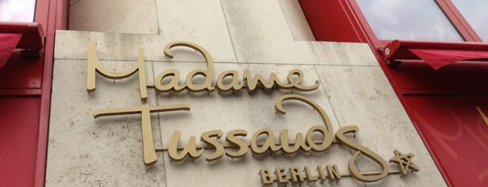 Madame Tussauds is one of Berlin.