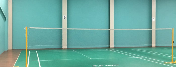 greenhill badminton is one of Dannyさんのお気に入りスポット.