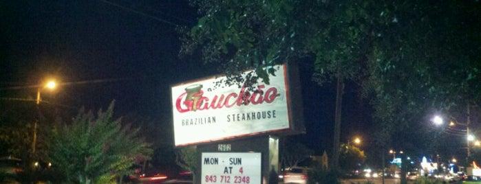 Gauchao Brazilian Steakhouse is one of Kim 님이 저장한 장소.