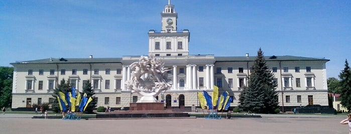 Майдан Незалежності / Independence square is one of Ievgenさんの保存済みスポット.