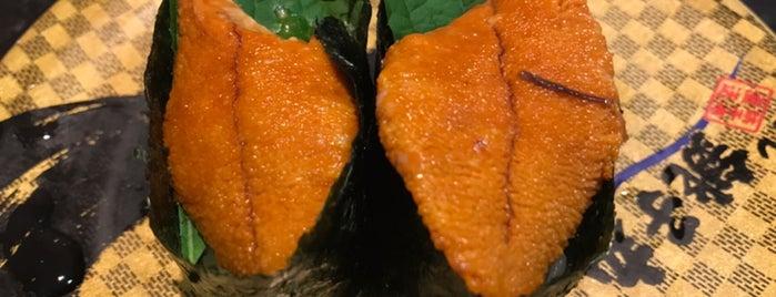 Sushi Choushimaru is one of Locais curtidos por Masahiro.