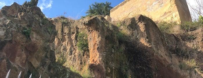 Tarpeian Rock is one of Roma.